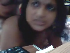 Kannada Indian aunty decree asshole unaffected by webcam careful expressions
