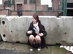 Indian Teen Zarina Masood Flashing Nude In Public
