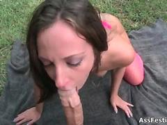Fat pain in the neck toddler Jada Stevens sucking