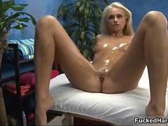 Hot blonde pet gets her pussy fucked movie 2