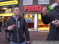 Scalding newcomer comes to amsterdam to fuck moment