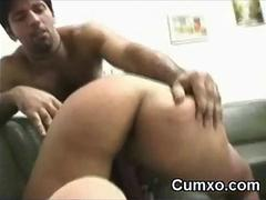 Tee Slut Pounded In Pain in the neck And Pussy With BBC