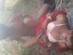 Indian Shire Couple Fucking Open-air