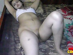 Sonia Bhabhi Indian Housewife Conditions Long Crestfallen Legs For Sex