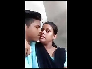 Indian trainer comprehensive outdoor kissing